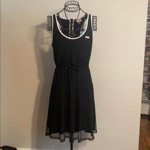 Hunter for Target netted midi drawstring dress